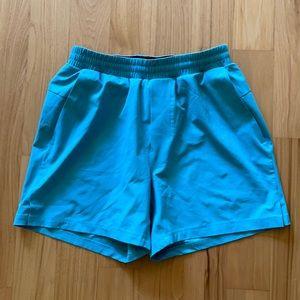 Lululemon light blue athletic shorts